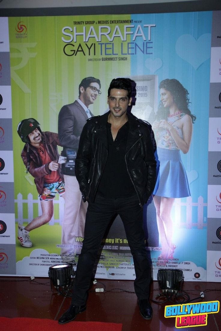 Hrithik Roshan, Zayed Khan, Manjari Phadnis at first look launch of film Sharafat Gayi Tel Lene #bollywood bollywood #bollywood #news #photography #fashion #latest #top #india #style #beauty