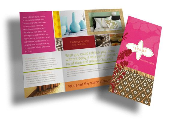 17 Best Tri Fold Brochure Inspiration Images On Pinterest