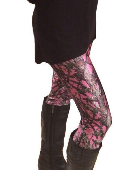 Southern Sisters Designs - Pink Camouflage Leggings- By Huntress Brand, $22.95 (http://www.southernsistersdesigns.com/pink-camouflage-leggings-by-huntress-brand/)