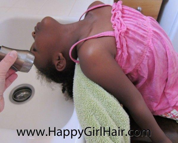 4 Tips for Sink Washing Natural Hair