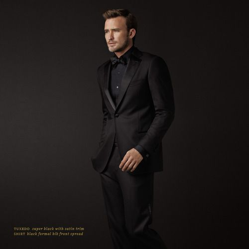 all black prom suits - photo #5