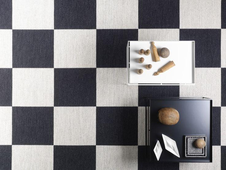 Tappeto in lana a motivi geometrici ARKAD by Kasthall design Gunilla Lagerhem Ullberg