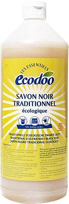 Ecodoo Zwarte Zeep 1000ml | Nu € 5,99 | Inhoud: 1000ml | Drogisterij.net