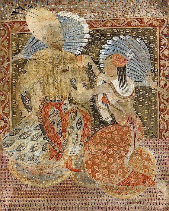 Шах Аббас. Грузинский художник Мераб Абрамишвили (Merab Abramishvili).