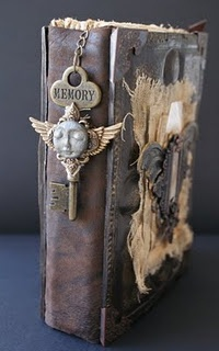 Steampunk altered book - ideas for JaMiah, maybe??