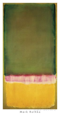 untitled ca c1949 poster par mark rothko sur