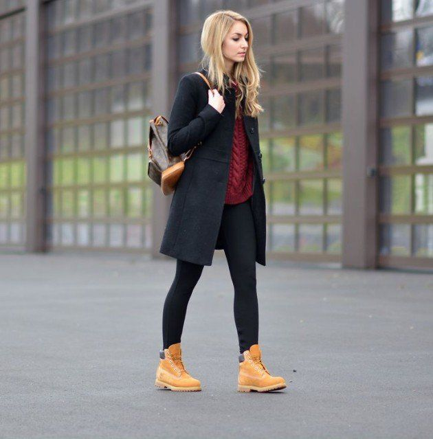 CASUAL STREET STYLE LOOKS WITH TIMBERLAND BOOTS ,casual street style,timberland boots,No matter the freezing temperatures, snow or the sun it should not stop you from enjoying walking down the streets, so you need to have the right pair of boots. And the most appropriate footwear for such weather conditions are of course the Timberland boots