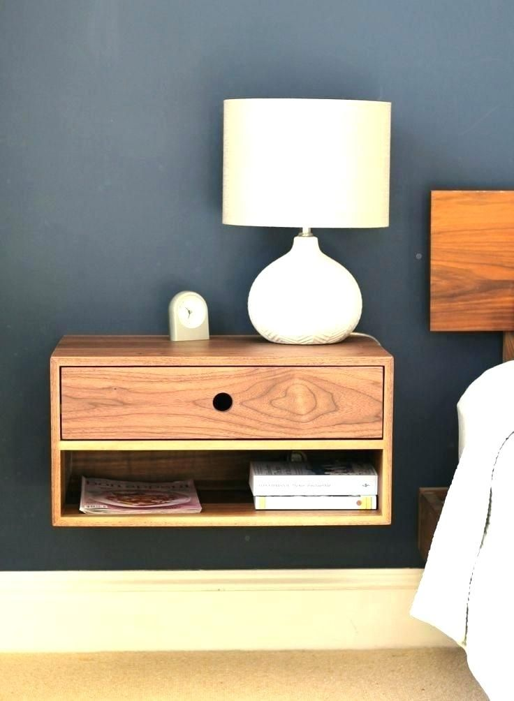 Bedside Shelves Wall Mounted Bedside Tables Best Wall Mounted