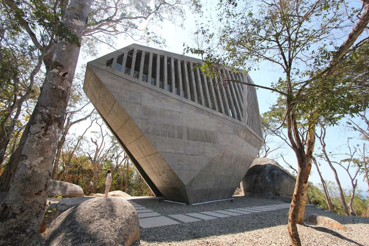 Built by BNKR Arquitectura in Acapulco, Mexico with date 2011. Images by Esteban Suárez. Our first religious commission was a wedding chapel conceived to celebrate the first day of a couple's new life. Our ...