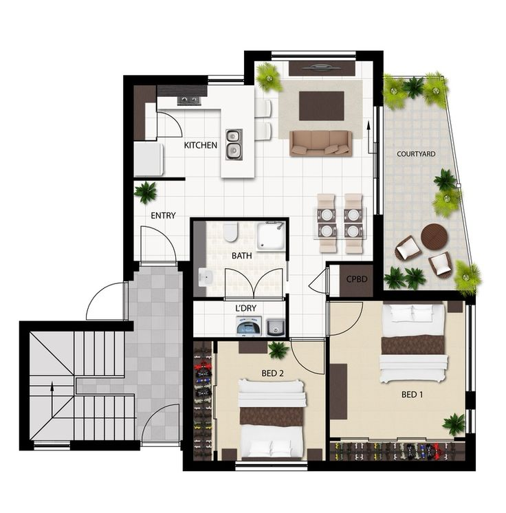 Architectural 3d Floor Plan Rendering: Australia's Leading 3D Architectural Visualisation And