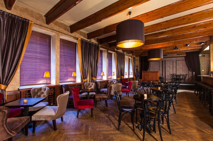 Designed by Beata Michalak Studio deccor. Mercy Brown is a small and elegant speakeasy style of bar hidden in the center of Kraków. A time journey into the 20's of last century.