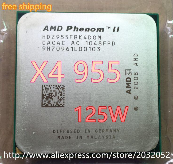AMD Phenom II X4 955 3.2Ghz L3=6MB Quad-Core Processor Socket AM3/938-pin (working 100%