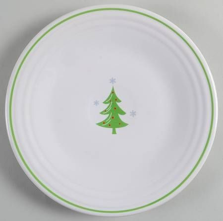 The 9\  White Fiesta® Dinnerware plate features a whimsical Christmas Tree graphic in the center.  sc 1 st  Pinterest & 1790 best Love Fiesta images on Pinterest | Parties Homer ...