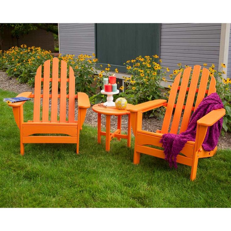 beach style plastic adirondack chair south lounge polywood chaise recycled products chairs