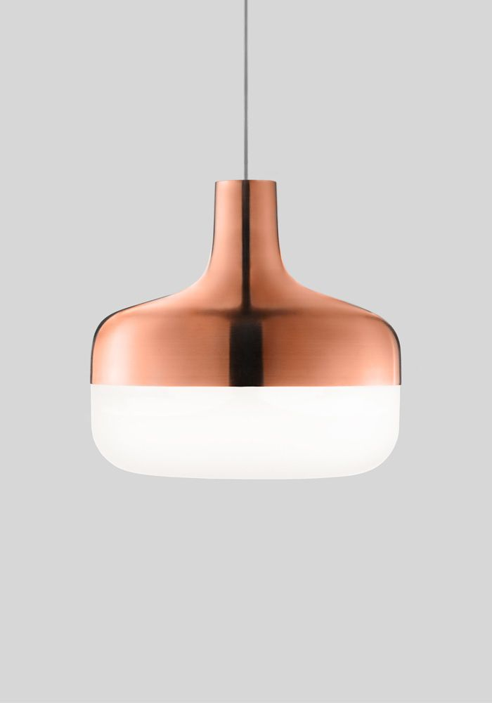 Korona Light by Harri Koskinen for Valoarte. See more Copper inspirations at http://www.brabbu.com/en/inspiration-and-ideas/
