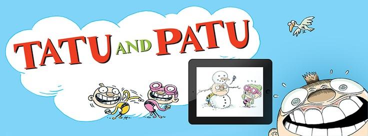 Tatu and Patu apps https://itunes.apple.com/app/tatu-ja-patu-pihalla/id584802848