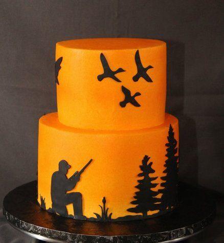 Hunter cake.  duck hunting cake.  Walter's retirement  Cake by SweetdesignsbyJesica