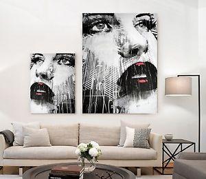 xxl bild set neu modern art leinwand lounge wandbild. Black Bedroom Furniture Sets. Home Design Ideas