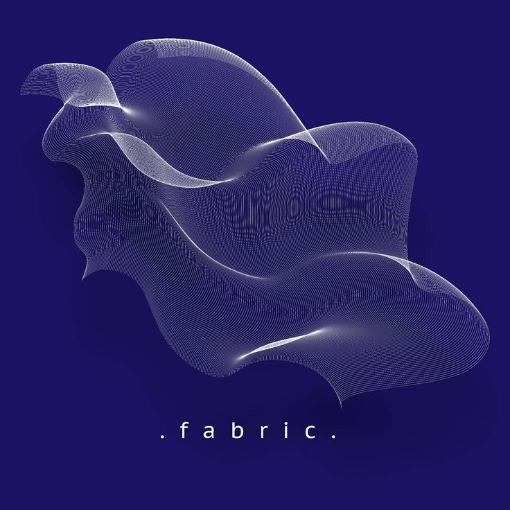 Identity for a fabric company #abstract #fabric #textile #mesh #graphicdesign #3d #brandingidentity #art #design