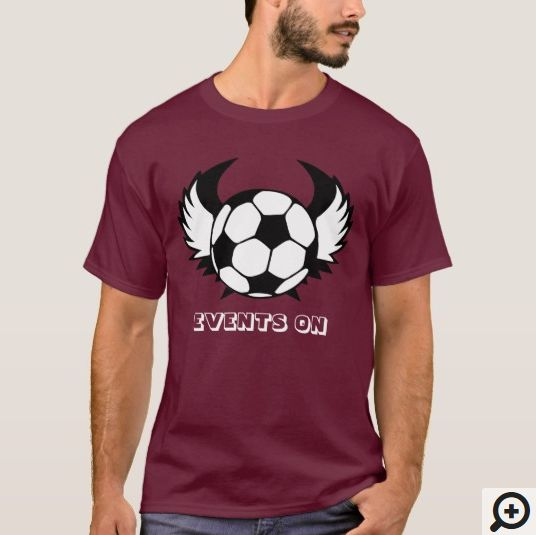 Football Events On T-Shirt