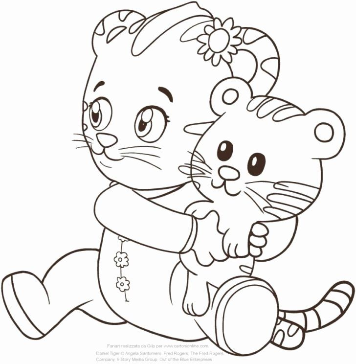 Simple Christmas Daniel Tiger Coloring Pages 7 Daniel Tiger Daniel Tiger S Neighborhood Daniel Tiger Birthday