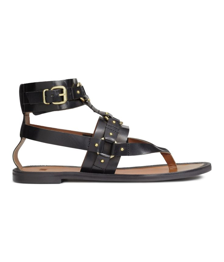 Leather Sandals | H&M Shoes