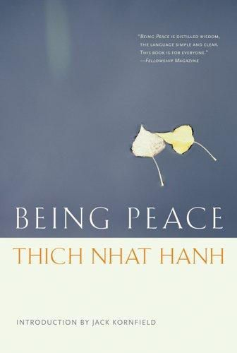 """The most basic kind of peace work ~ Thich Nhat Hanh http://justdharma.com/s/jixkt  If in our daily life we can smile, if we can be peaceful and happy, not only we, but everyone will profit from it. This is the most basic kind of peace work.  – Thich Nhat Hanh  from the book """"Being Peace"""" ISBN: 978-1888375404  -  http://www.amazon.com/gp/product/188837540X/ref=as_li_tf_tl?ie=UTF8&camp=1789&creative=9325&creativeASIN=188837540X&linkCode=as2&tag=jusdhaquo-20"""