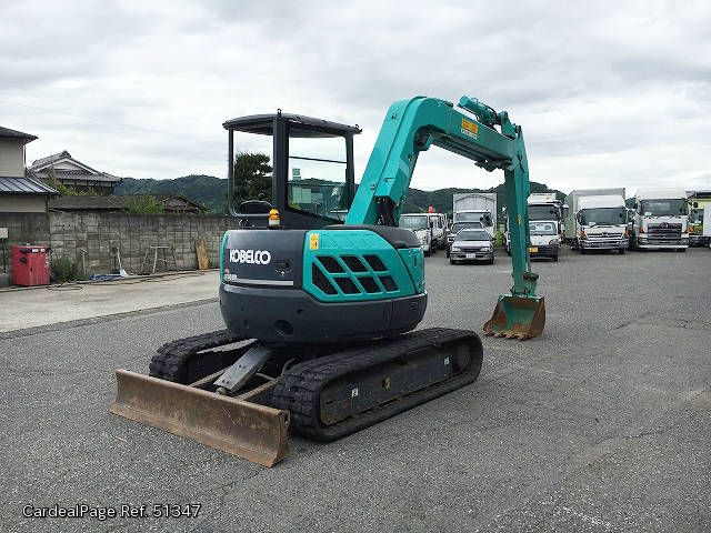 5t Excavator 30937 Used KOBELCO OTHERS SK50UR-5 Engine Type --- Ref No:51347 - Japanese Used Cars for Sale | CardealPage
