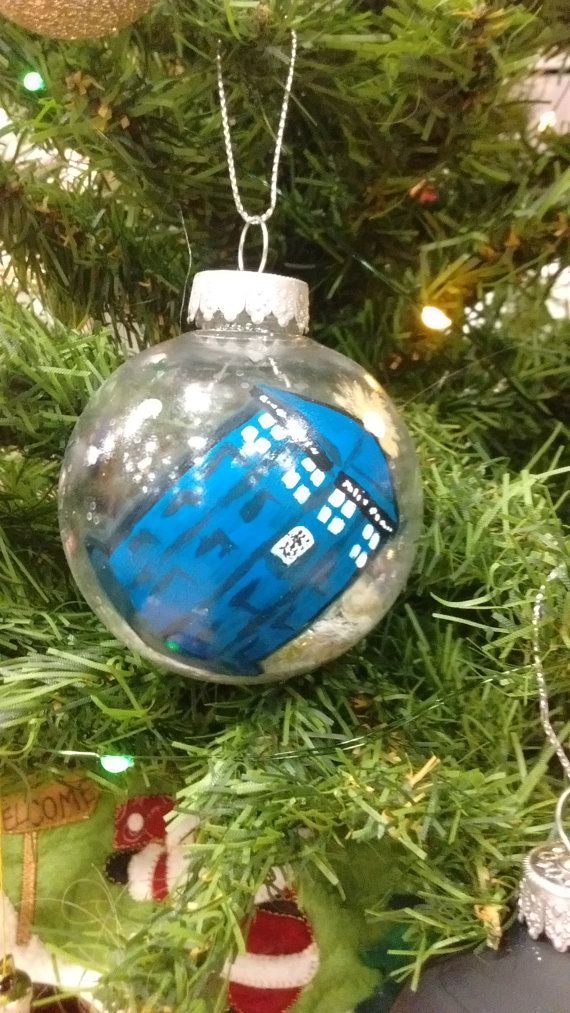 Doctor Who Christmas Ornament by StringTheorie on Etsy
