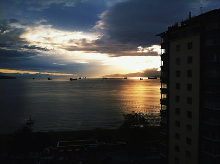 English Bay, Vancouver.  By Michael Kalus