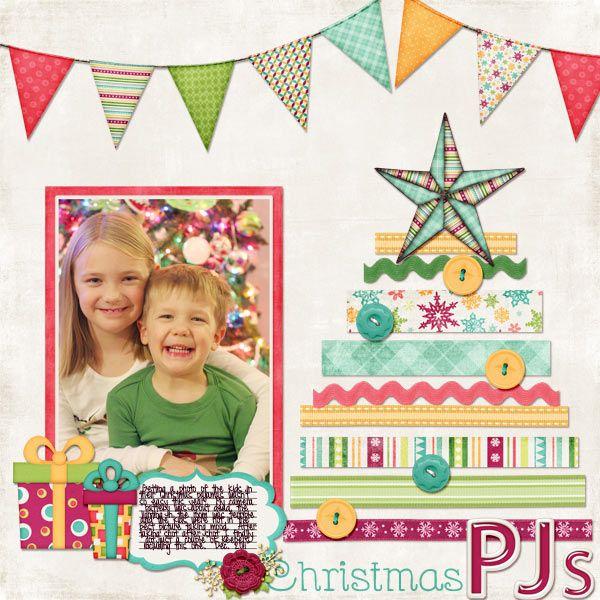 Christmas PJ's - Scrapbook.com