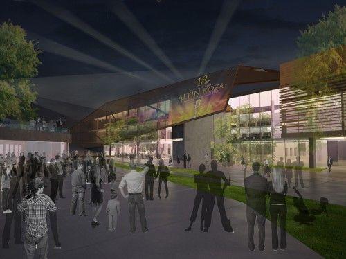 1. Ödül - Adana Çukurova İlçe Belediyesi Hizmet Binası ve Kültür Merkezi Ulusal Mimari Proje Yarışması - kolokyum.com