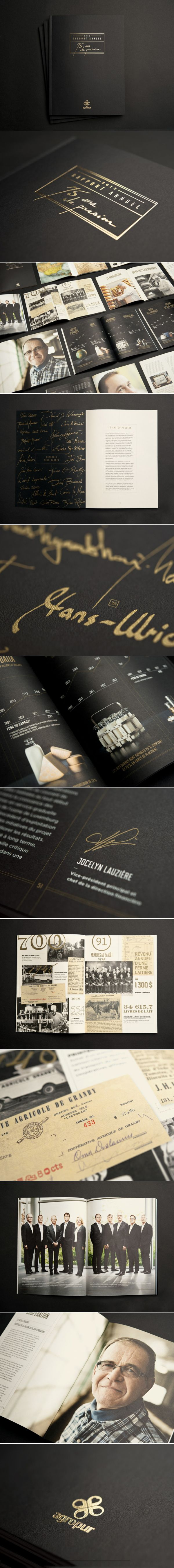 Nice Job !!! LG2 Agropur | Rapport annuel 2013 / 2013 Annual Report | Edition | lg2boutique