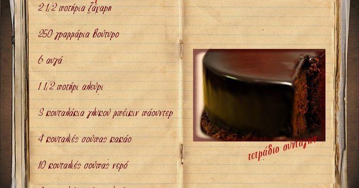 Συνταγές, αναμνήσεις, στιγμές... από το παλιό τετράδιο...: Κέικ με κακάο