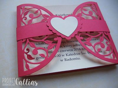 ProjectGallias: #projectgallias, Wedding invitations, Zaproszenia ślubne, na ślub, 100% handmade