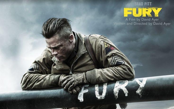 Ярость, Fury, Брэд Питт, Brad Pitt, танкист, M4 Sherman, ствол, война