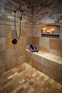walk in shower, its nice to dream....