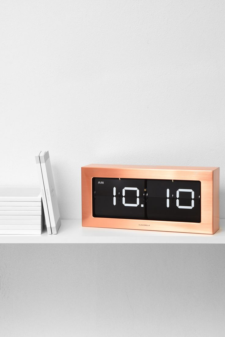 Copper BOSS Clock by Cloudnola   From Cloudnola.me