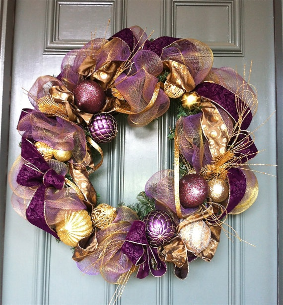 elegant holiday wreath | Holidays, Festivities and ...