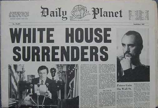 Daily Planet | The Daily Planet: Breaking News : The Return of Zod !
