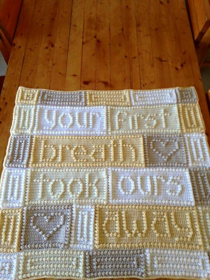 Crochet Pattern Your First Breath : 25+ Best Ideas about Crochet Letters on Pinterest ...