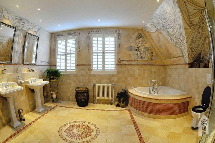 Fraaie badkamer in een Landelijke woning