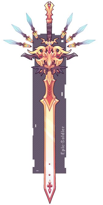 Espada dos 6 cristais