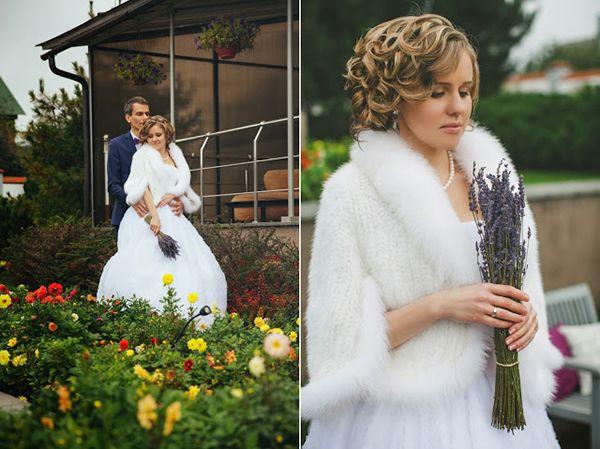 свадебный образ невесты #bride #wedding #fall #lavender