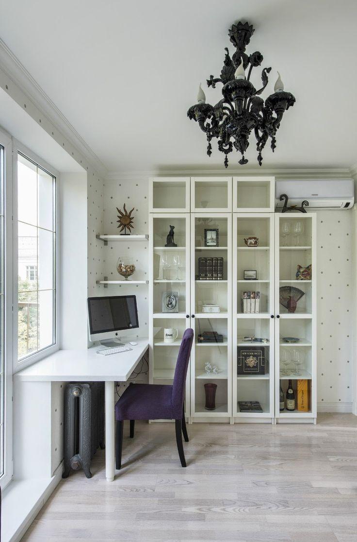 Дизайн однокомнатной квартиры: Уютная однокомнатная квартира в панельном доме, 30 кв.м.