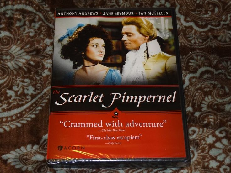 The Scarlet Pimpernel (DVD, 2013) Acorn Media - Jane Seymour/Ian McKellen *NEW!*