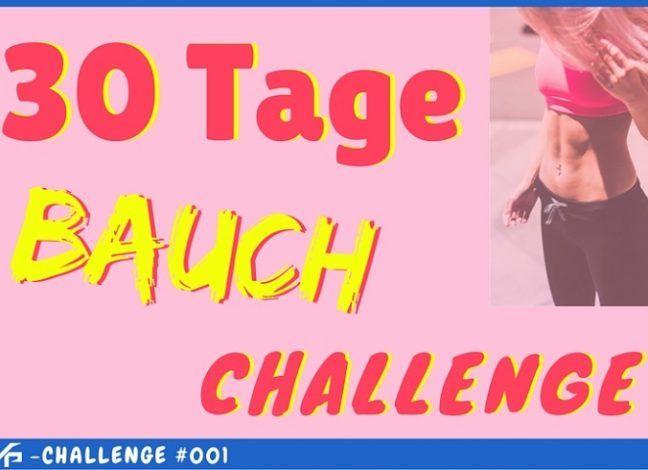 30-Tage Bauch Challenge: Flacher Bauch mit diesem 3-Übungen-Trainingsplan