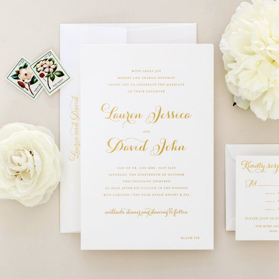 76 best paper images on pinterest wedding stationery, wedding Letterpress Wedding Invitations Free Samples oversized gold foil letterpress wedding invitations sample serenity ( free shipping) letterpress wedding invitations free samples