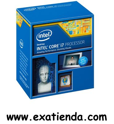 Ya disponible Cpu Intel s 1150 core i7   (por sólo 315.95 € IVA incluído):   -Socket soportado: LGA1150 -Cache: 8MB -Numero de nucleos: 4 -Conjunto de instrucciones: 64-bit -Velocidad de Reloj: 3,40 GHz (Turbo 3.9GHz) -Bus del Sistema: 800 MHz -Arquitectura: 22nm - TDP máx: 84W -Intel Graphics:IntelHD Graphics 4600 -Formato: BOX      Garantía de 24 meses.  http://www.exabyteinformatica.com/tienda/770-cpu-intel-s-1150-core-i7-4770-3-4ghz #intel #exabyteinformatica