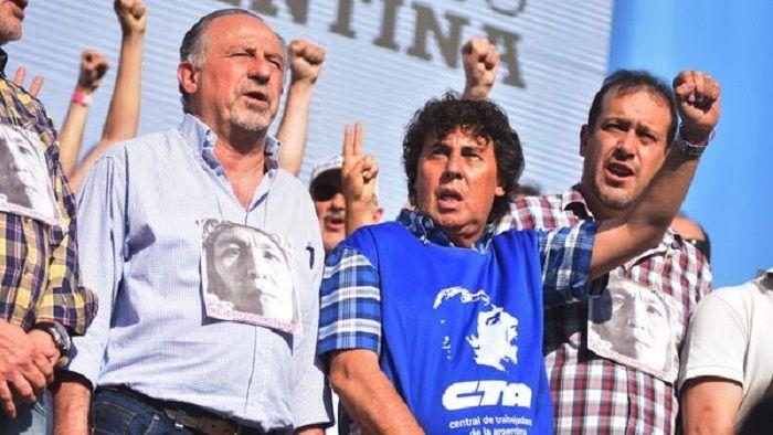 Las dos CTA se adelantaron a la CGT y anunciaron un paro general para el 30 de marzo: Pablo Micheli y Hugo Yasky criticaron al triunvirato…